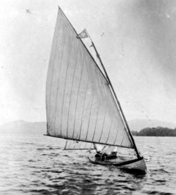 Early Sailing Canoe, Loch Lomond