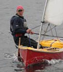 The Avocet sailing canoe