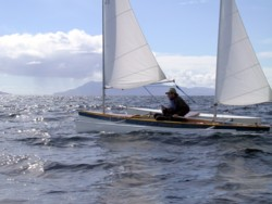 solway dory outrigger canoe